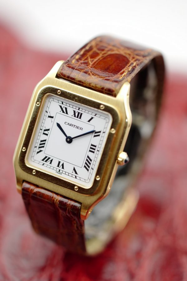 Cartier Santos Dumont Extrathin
