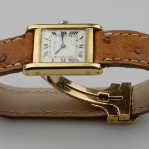 Cartier Tank Normale Paris Dial